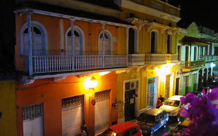View from Hotel Marlin, Cartagena