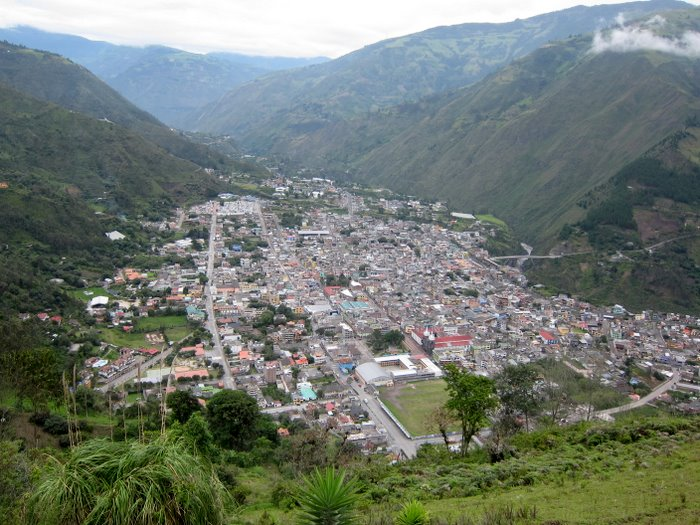 Baños from the Bellavista Viewpoint