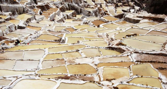 Salt pond of Maras