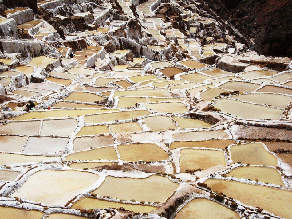 Salt pond of Maras