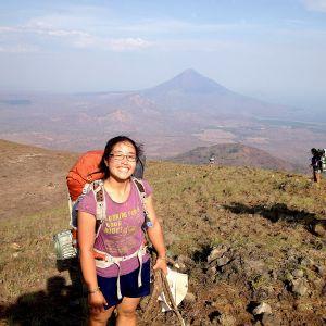 Jill on El Hoyo Nicaragua
