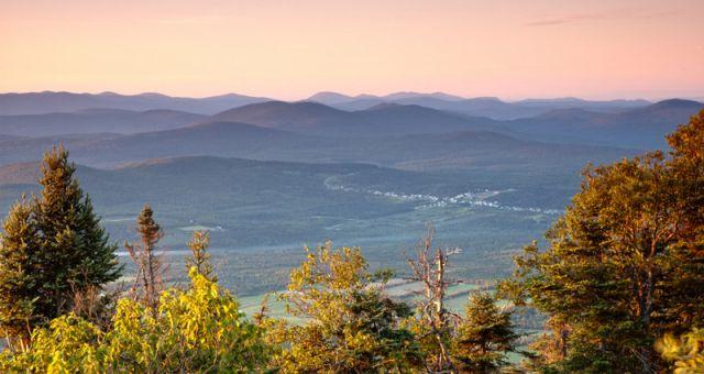 View from St. Joseph trail, Mont Megantic
