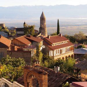 Signaghi, a pretty town in Georgia's wine region
