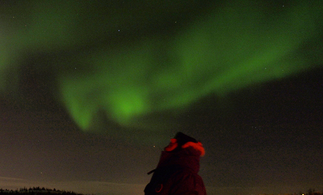 chasing the northern lights yellowknife