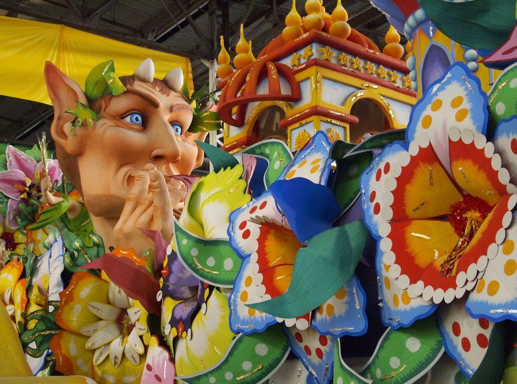 mardi gras world in New Orleans