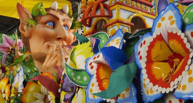 mardi gras world in New Orleans