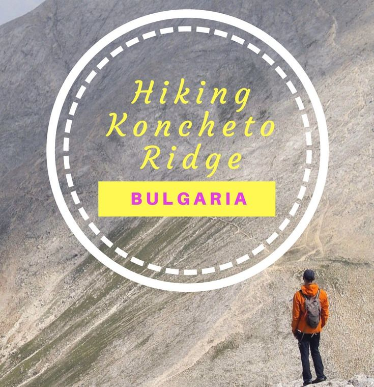 Hiking the knife edge ridge of Koncheto in Bulgaria's Pirin National Park
