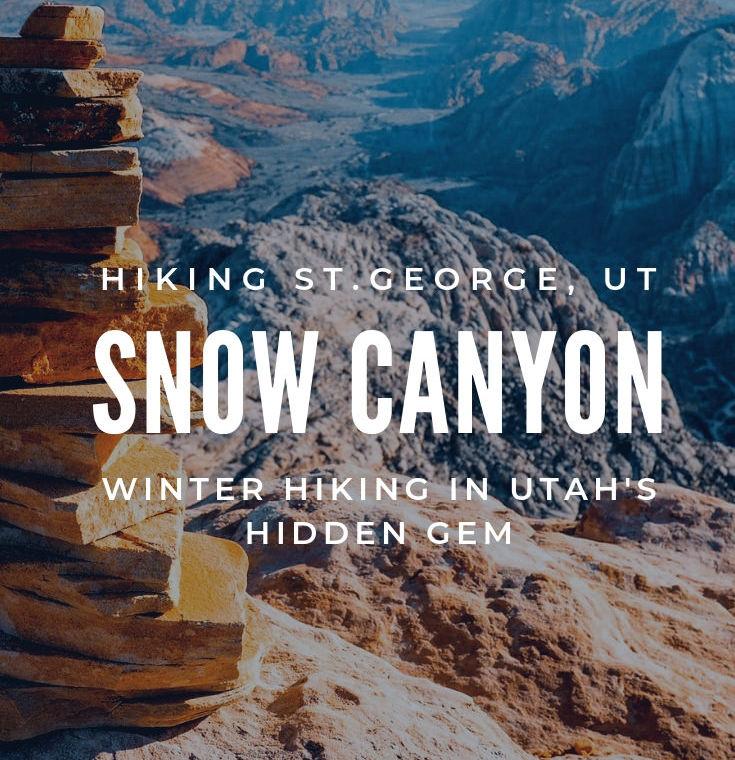 st george, snow canyon state park utah
