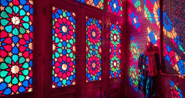 Nasir-ol-molk Mosque is one of the places to visit in Iran