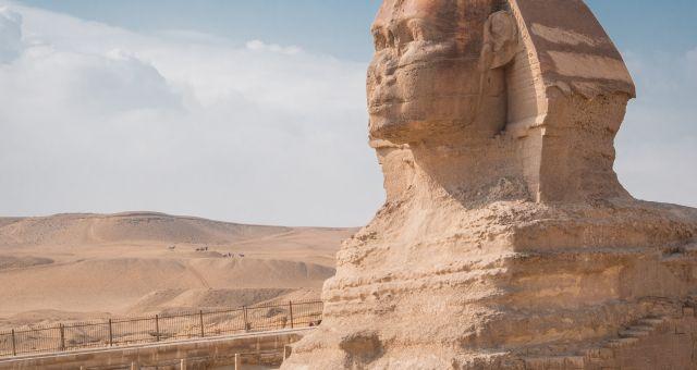 sphinx in Cairo