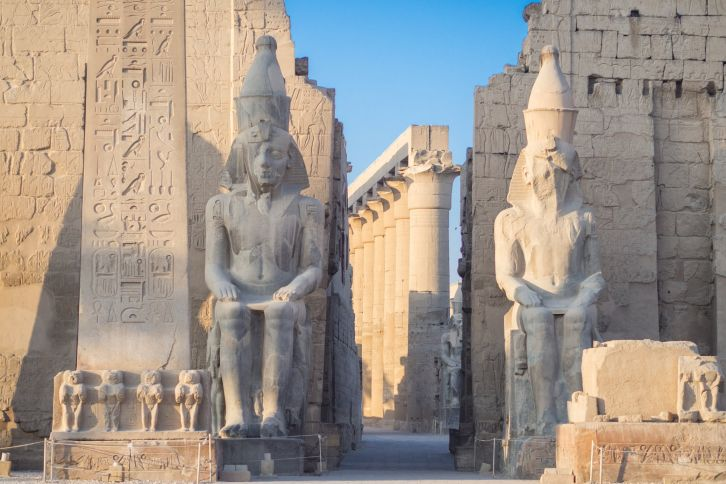 Entrance to Luxor Temple